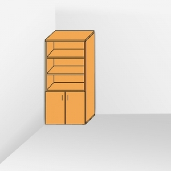 Шкаф с открытым верхом 202