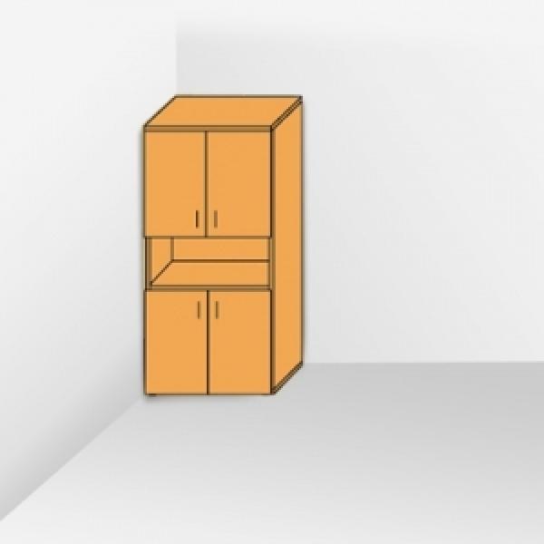 Шкаф с открытой полкой 203