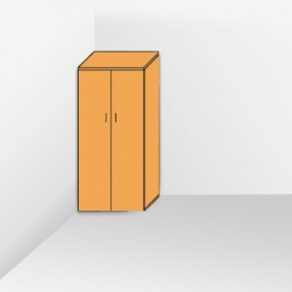 Шкаф высокий с полками 205