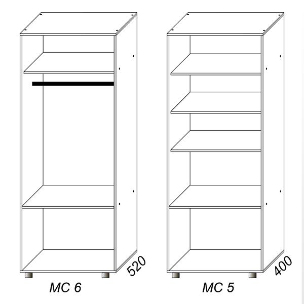 шкафы фото